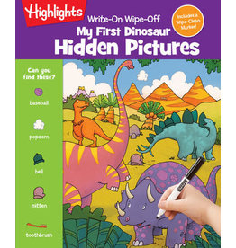 Highlights Highlights Write-On Wipe-Off My First Dinosaur Hidden Pictures
