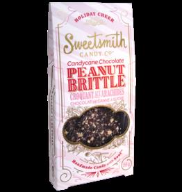 Sweetsmith Candy Co. Candy Cane Chocolatly Peanut Brittle