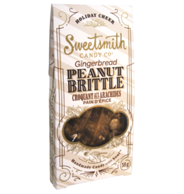 Sweetsmith Candy Co. Gingerbread Peanut Brittle