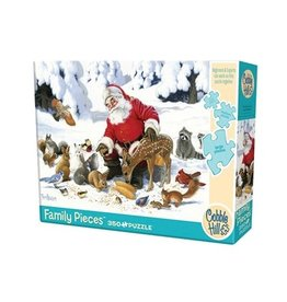 Cobble Hill Santa Claus and Friends 350pc Family Puzzle