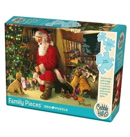 Cobble Hill Santa's Lucky Stocking 350pc Family Puzzle