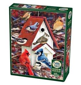 Cobble Hill Winter Birdhouse 1000pc