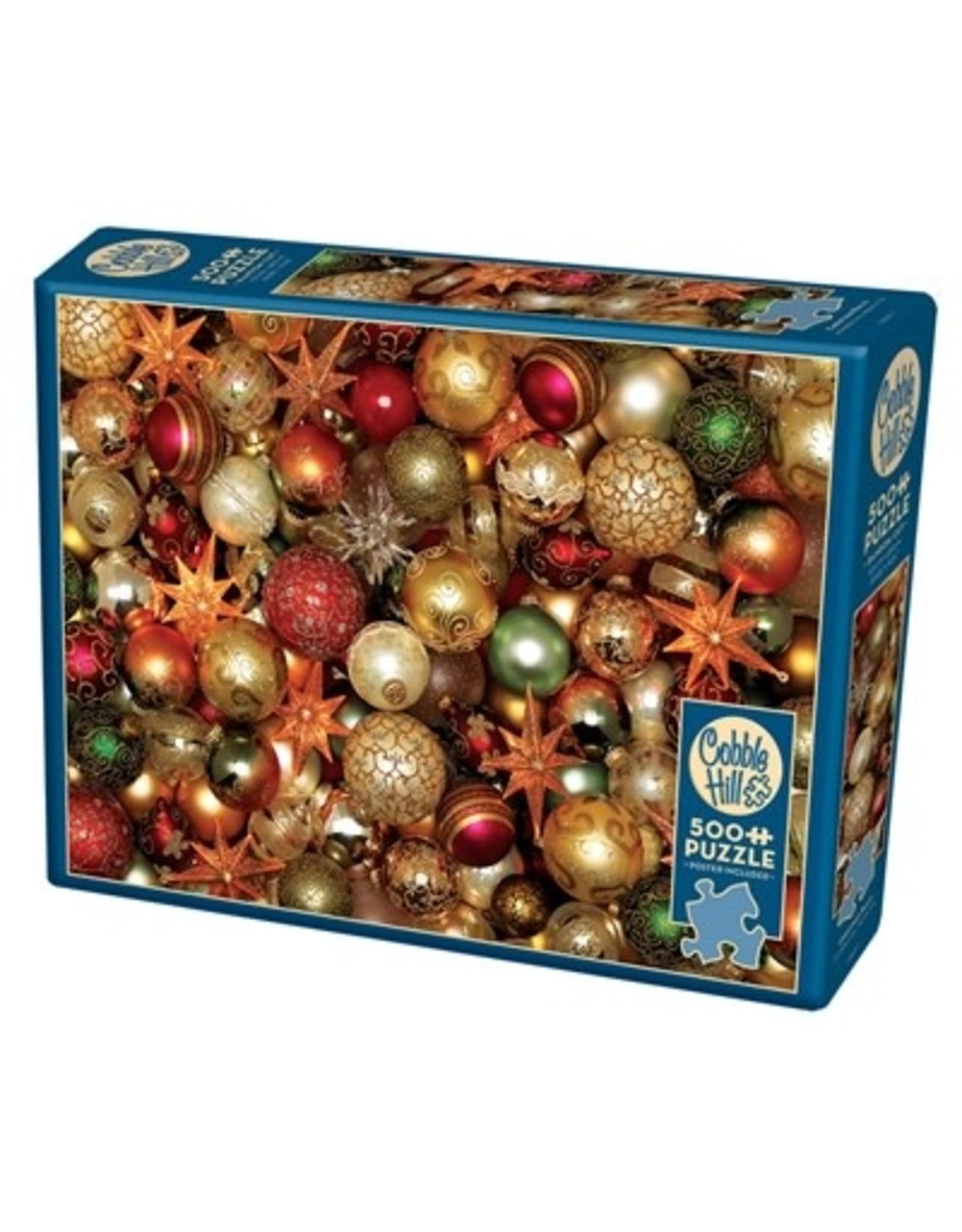 Cobble Hill Christmas Balls 500pc