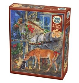 Cobble Hill Holiday Horsies 275pc