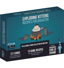 Exploding Kittens Exploding Kittens: Recipes for Disaster