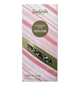 Sweetsmith Candy Co. Peppermint Twist Cocoa Bark