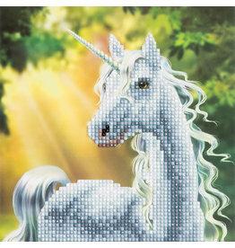 D.I.Y Crystal Art Kit Crystal Art Card Kit - Sunshine Unicorn