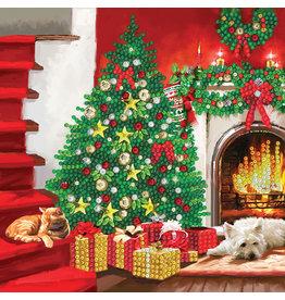 D.I.Y Crystal Art Kit Crystal Art Card Kit - Christmas Tree