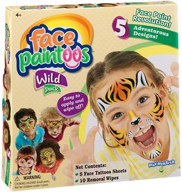 Play Monster Face Paintoos: Wild Pack