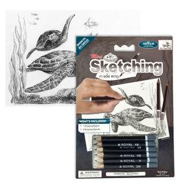 Royal & Langnickel Mini Sketching Made Easy - Sea Turtle