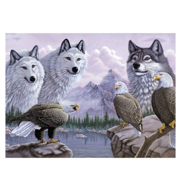 Royal & Langnickel Large Paint by Number: Wolves and Eagles