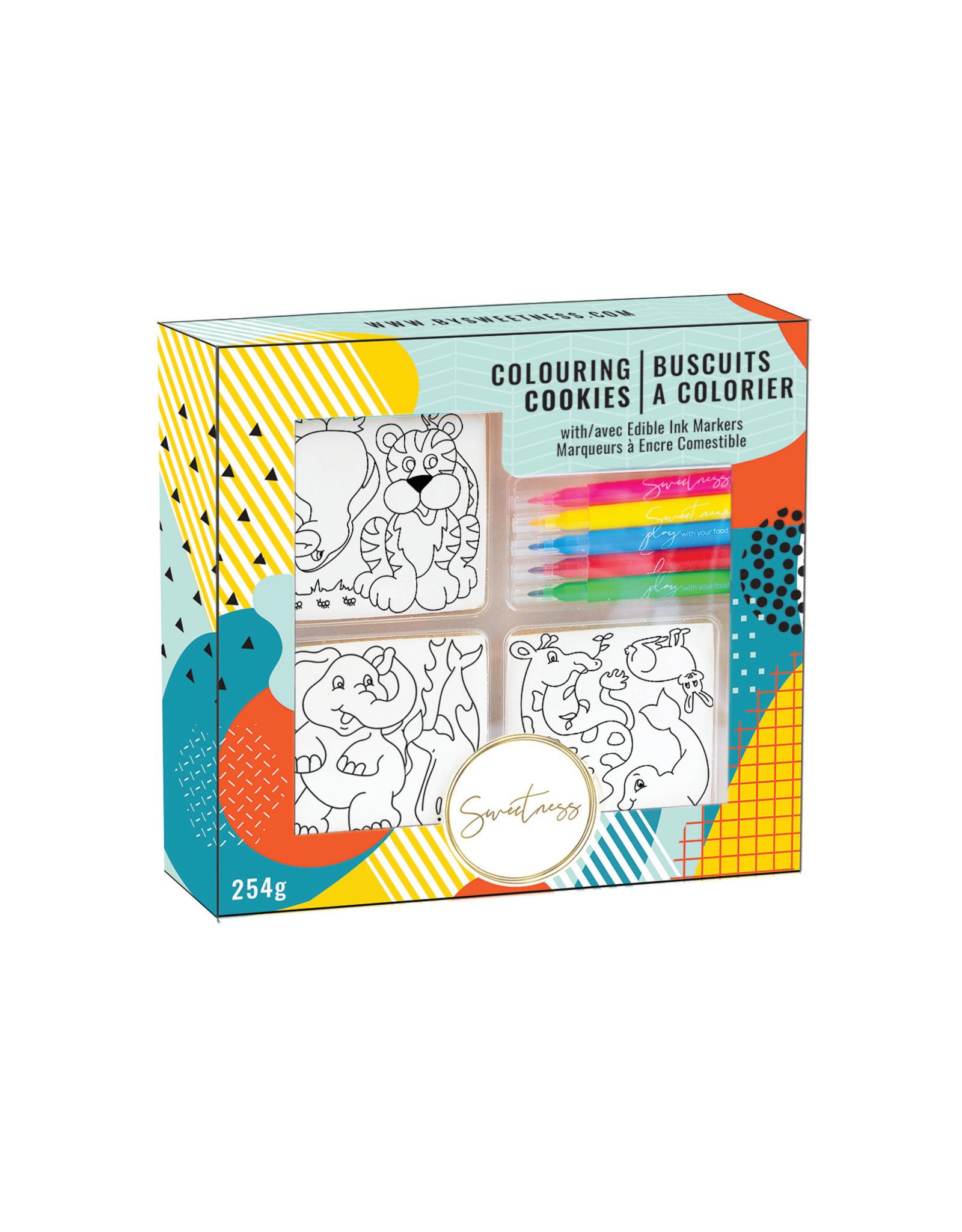 Sweetness Colouring Sugar Cookies - Animal Friends