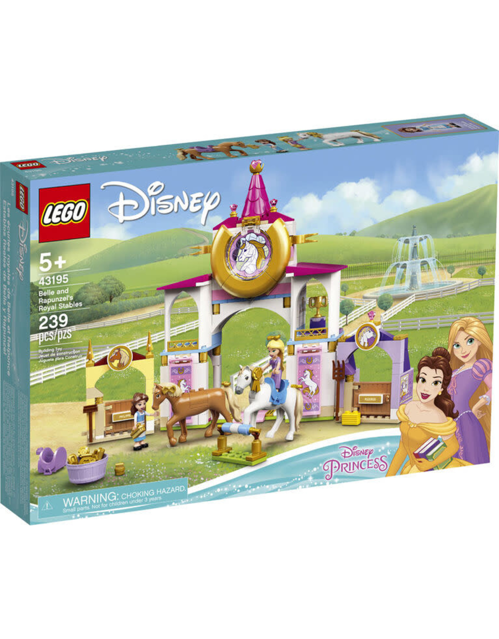 Lego Belle and Rapunzel's Royal Stables