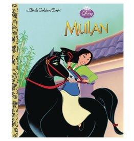 Little Golden Books Mulan Little Golden Book (Disney Princess)