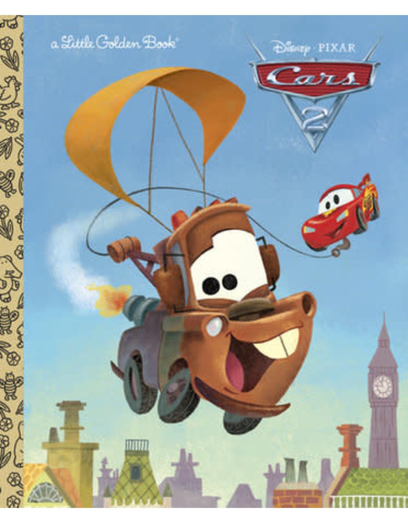 Little Golden Books Cars 2 Little Golden Book (Disney/Pixar Cars 2)