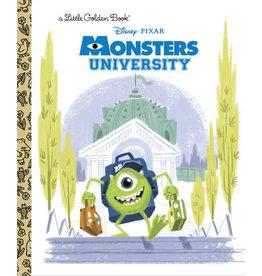 Little Golden Books Monsters University Little Golden Book (Disney/Pixar Monsters University)