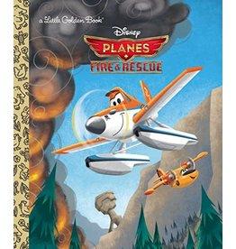 Little Golden Books Planes: Fire & Rescue Little Golden Book (Disney Planes)