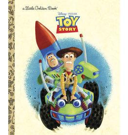 Little Golden Books Toy Story Little Golden Book (Disney/Pixar Toy Story)
