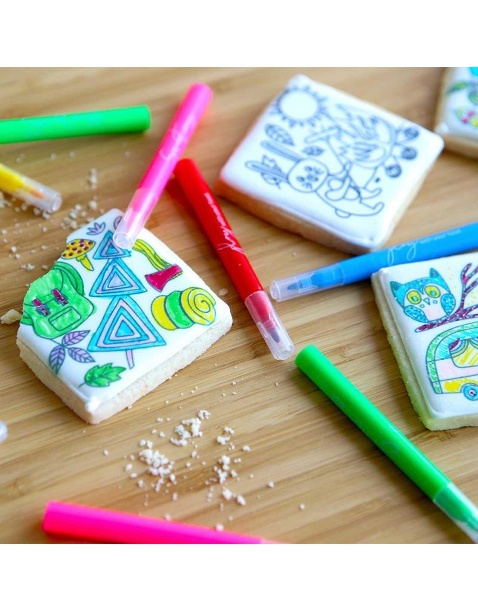 Sweetness Colouring Sugar Cookies - Great Outdoors