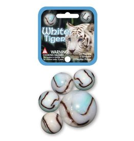 Incredible Novelties White Tiger Marbles