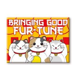 NMR Lucky Cat Furtune Flat Magnet