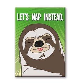 NMR Sloth - Nap Flat Magnet