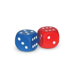 Learning Resources Soft Foam Dot Dice, Set of 2