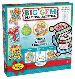 Creativity For Kids Big Gem Diamond Painting – Holiday