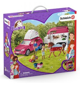 Schleich Horse Adventures with Car and Trailer