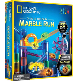 Incredible Novelties National Geographic 50pc Glow in the Dark Marble Run