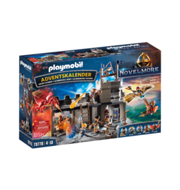 Playmobil Advent Calendar Novelmore - Dario's Workshop