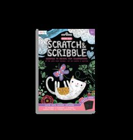 Ooly Cutie Cats Scratch & Scribble Mini Scratch Art Kit