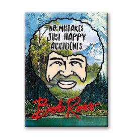 NMR Bob Ross Happy Accidents Flat Magnet