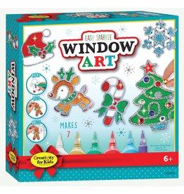 Creativity For Kids Holiday Easy Sparkle Window Art