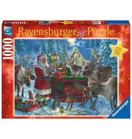 Ravensburger Packing the Sleigh 1000pc