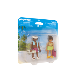 Playmobil Vacation Couple Duo Pack