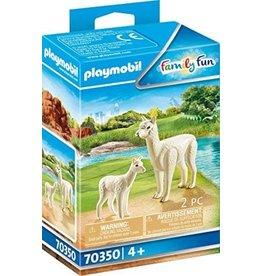 Playmobil Alpaca with Baby