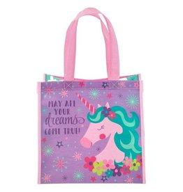 Stephen Joseph Small Recycled Gift Bag - Unicorn