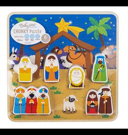 Nativity Scene 6pc Chunky Puzzle