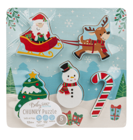 Holiday 5pc Chunky Puzzle
