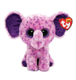 Ty Eva - Pink Speckled Elephant Reg