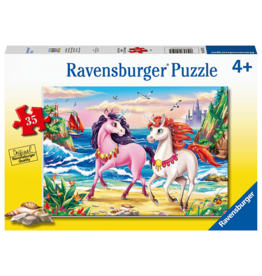 Ravensburger Beach Unicorns 35pc