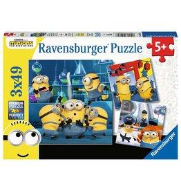 Ravensburger Funny Minions 3x49pc