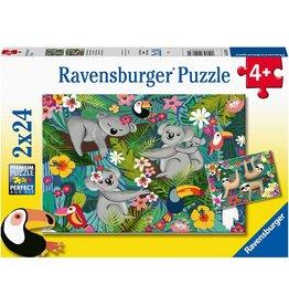 Ravensburger Koalas and Sloths 2x24pc