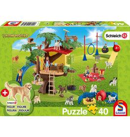 Farm World, Happy Dogs 40pc