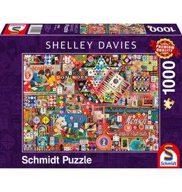 Shelley Davies: Vintage Board Games 1000pc