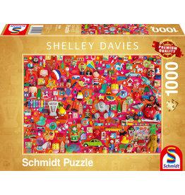 Shelley Davies: Vintage Toys 1000pc