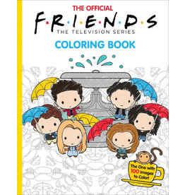 Scholastic The Official Friends Coloring Book