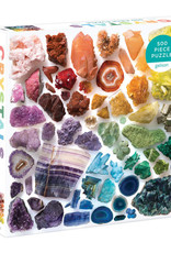 Chronicle Books 500 pc Puzzle: Rainbow Crystals