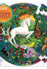 eeBoo 500pc-Puzzle: Unicorn Garden